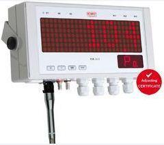 Large display multifunction transmitter