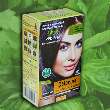 100% NATURAL HAIR COLOUR