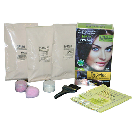 COLORINA BIO HAIR COLOR (Contents of Kit)