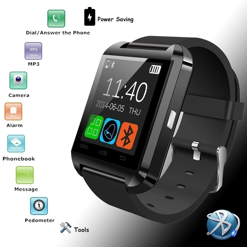 1.44 inch Bluetooth v3.0 Smart Watch Sleep Monitor for Android Phones