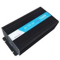 Power Inverter 1500W Pure Sine Wave Solar Inverter 12/24V DC to