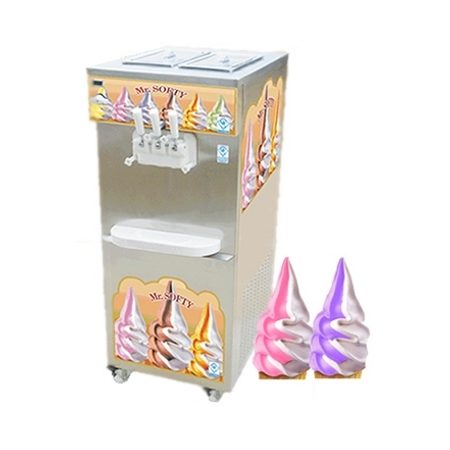 Twin Flavour Softy Ice Cream Machine Pump Series
