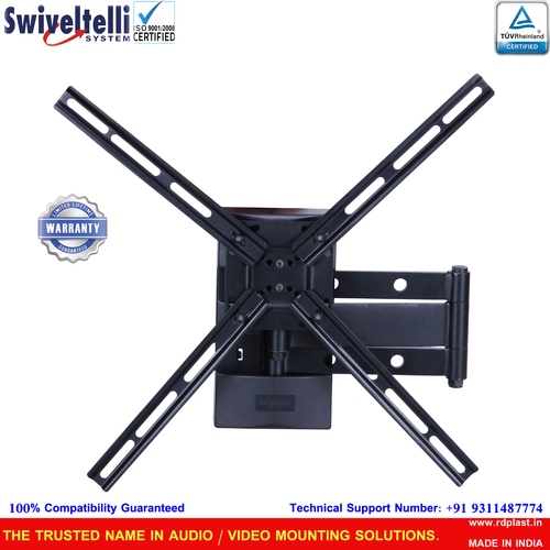 Full Motion TV Wall Mount - Upto 55 Inches