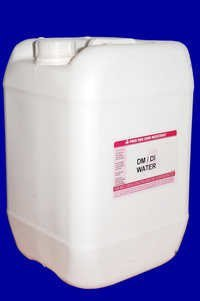 Demineralised Distilled Water
