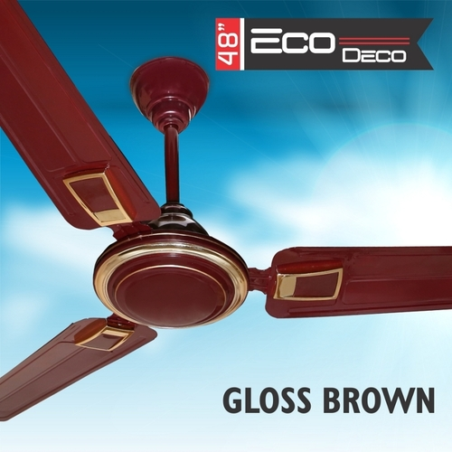 ECO DECO GLOSS BROWN Ceiling Fan