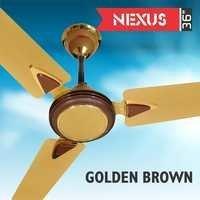NEXUS 36 BEIGE BROWN Ceiling Fan