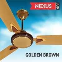 NEXUS -GOLDEN BROWN Ceiling Fan