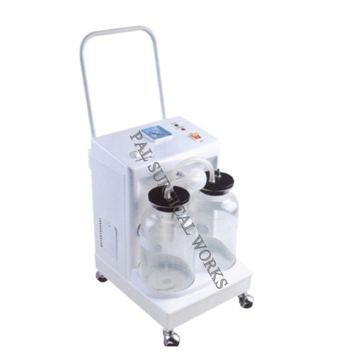 Trolley Model Suction Machine