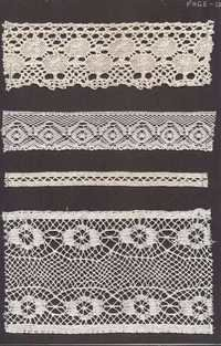 cotton crocia lace