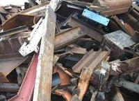 Light melting press bundle scrap
