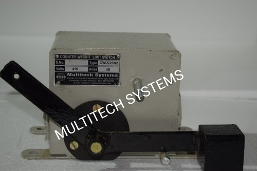 Counter weight Limit Switch