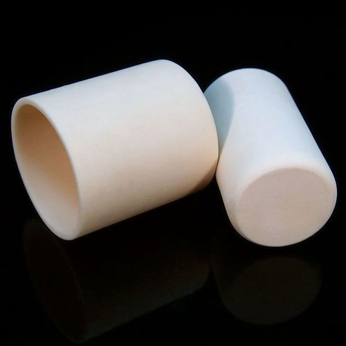 Refractory Recrystallized Alumina Crucibles in Cylindrical Shape