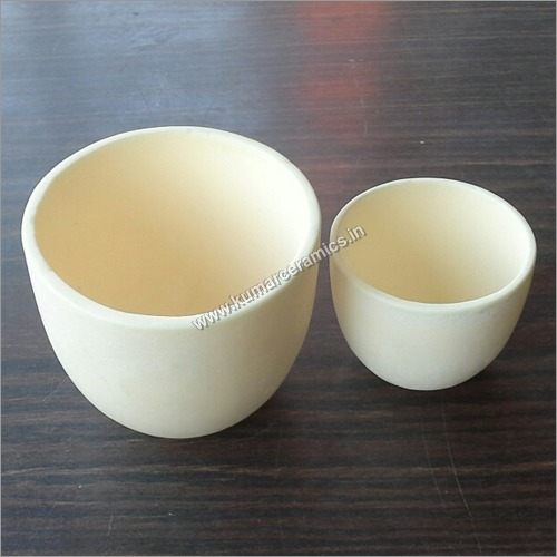 Ceramic  Alumina Crucibles Short Form