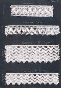 cotton & crocia lace