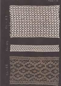 cotton and crocia lace