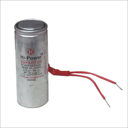 Single Phase Motor Capacitors