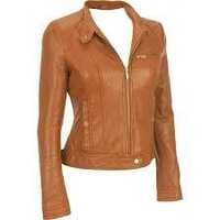 Leather and Leatherette Jacket