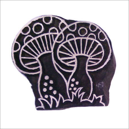 Wooden Printing Blocks for printing on fabric 10 pcs pack