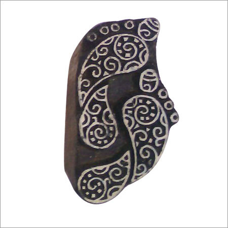 Hand Carved Wooden Textile Printing Block