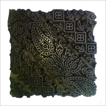 Antique Wooden Printing Blocks