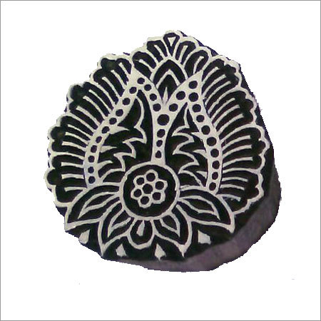 Hand Carved Wooden Printing Block
