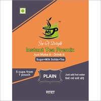 Instant Plain Tea Premix
