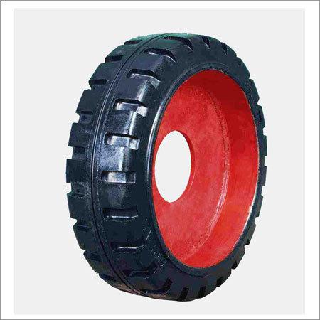 Mold on Wheel Tyres