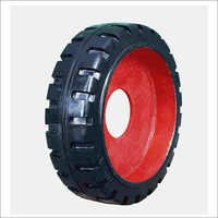 Mold on Wheel Tyres