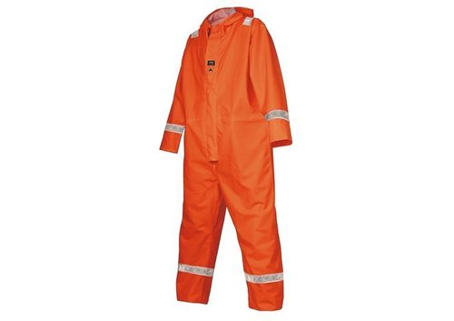Fire Retardant Coverall with Reflective Tapes