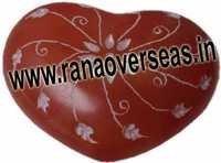 Marble  Soap Stone heart