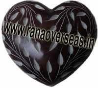 Marble  Soap Stone heart  5