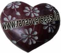 Marble  Soap Stone heart  6