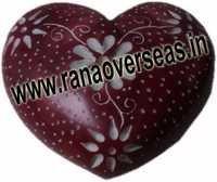 Marble  Soap Stone heart  8