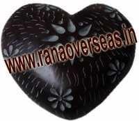 Marble  Soap Stone heart  9