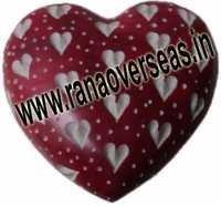 Marble  Soap Stone heart  10