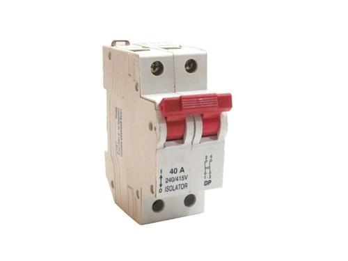 MCB Isolator 40 Amp.