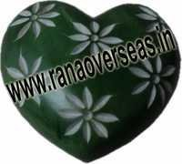 Marble  Soap Stone heart  11