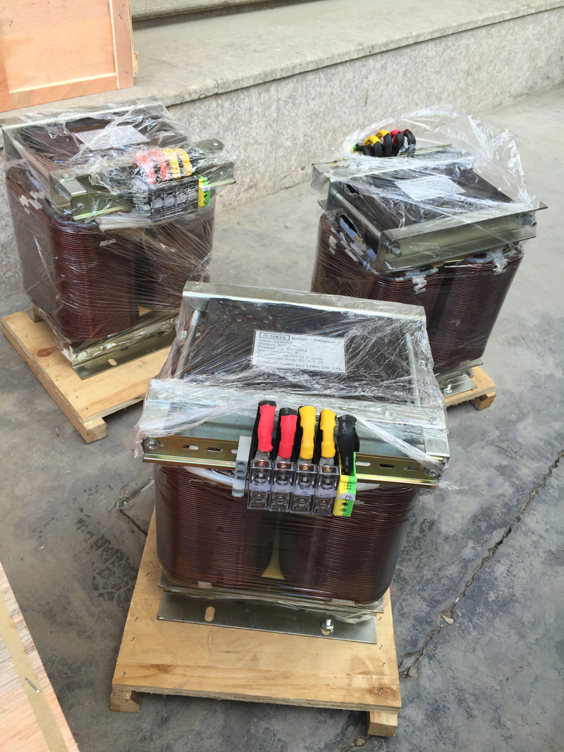 40KW Boosting transformer with single phase 230V to 360VAC