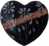 Marble  Soap Stone heart  13