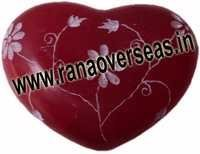 Marble  Soap Stone heart  14