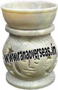 Marble Soap Stone  Burner 9