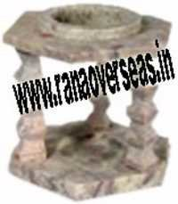 Marble Soap Stone  Burner 14