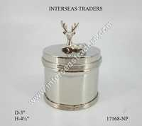 Decorative Brass Box with lid