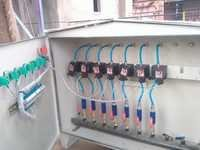 Control panel commissioning
