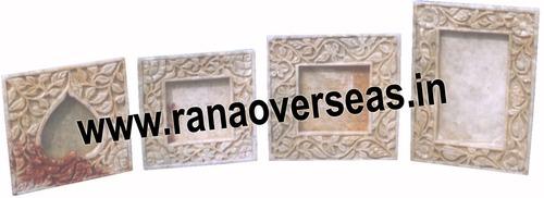 Marble /soap  stone photoframe