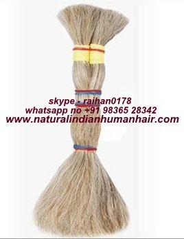 Non Remy Single Drawn Natural Blonde Hair