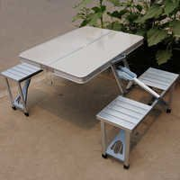 Portable Outdoor Leisure Folding Tables And Chairs