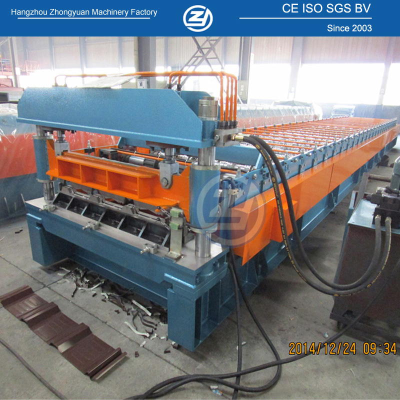 Profiled Metal Cladding Machine