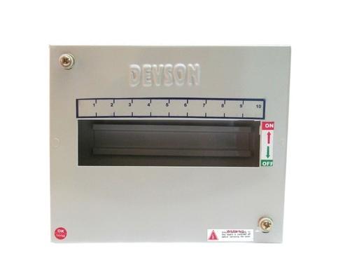 10 Way SPN Single Door MCB Distribution Box