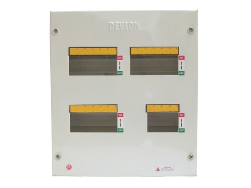 MCB Distribution Board 3 Phase Double Door TPN
